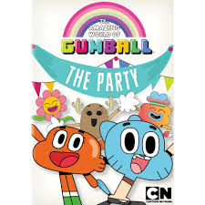 The Amazing World Of Gumball The Party Dvd Video Cumpleanos
