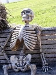 skeleton waiting gifs tenor