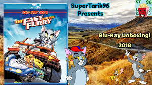 Tom and Jerry The Fast and the Furry Blu-Ray Unboxing! - YouTube