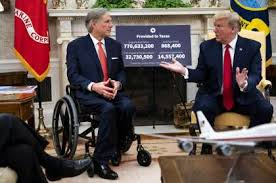 Gov. Greg Abbott's White House whirlwind: praise from Trump, jeers for foes  — and COVID germs? - HoustonChronicle.com