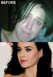 katy perry no makeup look can you
