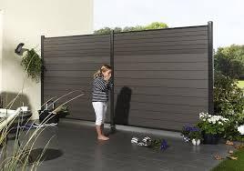 Exterior Wood Plastic Fence Design Ideas Synthetic Trailer Deck Board Wood Plastic Material Pergola Terrasse Patio Exterieur Cloture Jardin