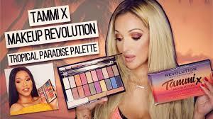 tammi x makeup revolution tropical