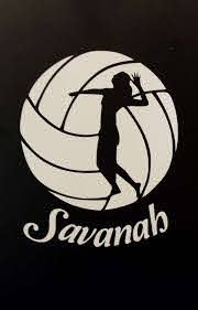 Volleyball Decal Volleyball Sticker Personalized Volleyball Decal Sport Bag Decal Wa Volleyball Posters Volleyball Locker Decorations Volleyball Silhouette