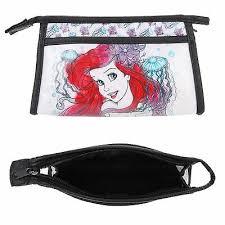 little mermaid ariel cosmetic bag