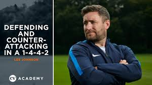 Lee Johnson   Defending and counter-attacking in a 1-4-4-2   The ...