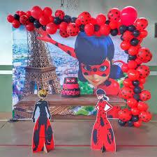 Fiesta De Ladybug Decoracion De Ladybug Para Fiesta Infantil