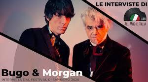 Bugo e Morgan Intervista Sanremo 2020 Sincero - YouTube