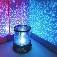 Us Off Stars Starry Sky Led Night Light Projector Moon Lamp Battery Kids Gifts Children Bedroom Lamp Projection Lamp In Projector Bedroom Light Autoiq Co
