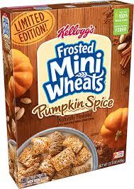 kellogg s frosted mini wheats pumpkin
