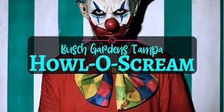 howl o scream 2019 busch gardens ta