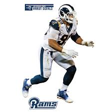 Aaron Donald Los Angeles Rams Fathead 3 Pack Life Size Removable Wall Decal