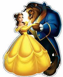Beauty And The Beast Disney Decal Vinyl Sticker Bumper Car Ps4 Phone Window Ebay