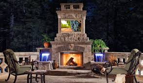 outdoor tv pictures outdoor fireplace