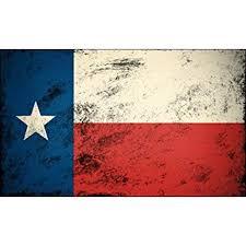 Vintage Texas Flag Sticker Decal Old Look Star Distressed Tx Yexan Size 3 X 5 Inch Walmart Com Walmart Com