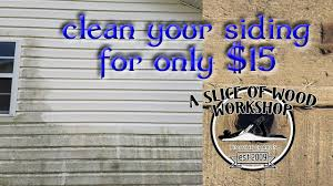 est way to clean your siding