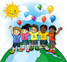 Children United World Of Peace Royalty Free Cliparts, Vectors, And Stock  Illustration. Image 29833266.