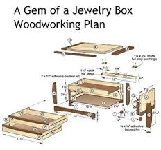 build your own wooden jewelry box plans