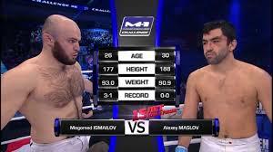 M1 Challenge 36 | Магомед Исмаилов - Андрей Маслов HD - YouTube