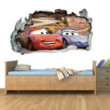 Disney Cars Planes Smashed Wall Art Vinyl Decal Stickers Home Decor Boys Girls C For Sale Online