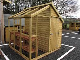 potting sheds summer garden buildings