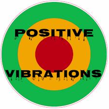Positive Vibrations Rasta Circle Sticker U S Custom Stickers