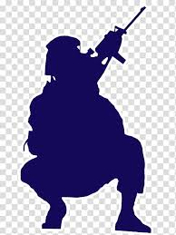 Soldier Silhouette Army Military Salute Infantry Wall Decal Shooting Sport Transparent Background Png Clipart Hiclipart