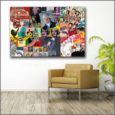 Large Printing Andy Warhol Portfolio Of Works Art Wall Art Picture Home Decor Living Room Modern Canvas Print No Frame Paintings Canvas Prints Home Decormodern Living Room Aliexpress