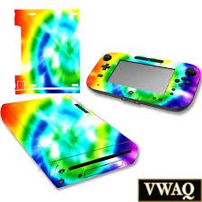 Tie Dye Wii U Skin Decal Skins For Nintendo Wii U Console Etsy