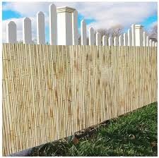 Amazon Com Gdming Bamboo Fences Panel Garden Privacy Decoration Balcony Privacy Screen 100 Blocked Sight Outdoor Awning For Patio Swimming Pool 18 Sizes Color Natural Size 1 5x3m Garden Outdoor