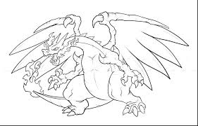 Pokemon Coloring Pages Mega Charizard X At Getdrawings Free Download