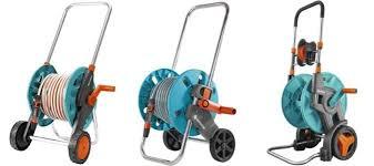 gardena cart garden hose reels