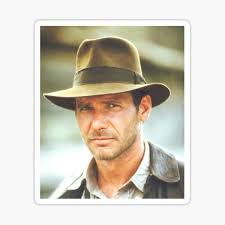 Indiana Jones Stickers Redbubble