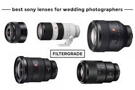 sony lenses for wedding photographers