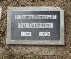Ida Hill Gardiner (1902-1955) - Find A Grave Memorial