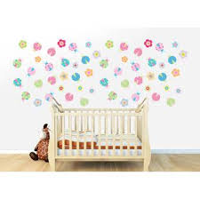 Wall Decal Source Lady Bug And Flower Vinyl Wall Decal Wayfair