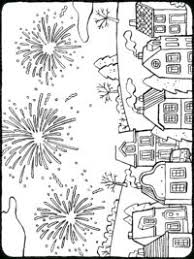 Vuurwerk Kleurplaten Topkleurplaat Nl