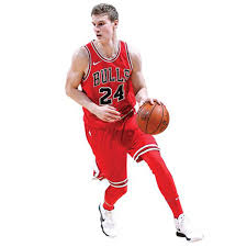 Lauri Markkanen Chicago Bulls Fathead Life Size Removable Wall Decal