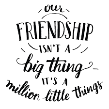 friendship hand lettering and calligraphy quote famous
