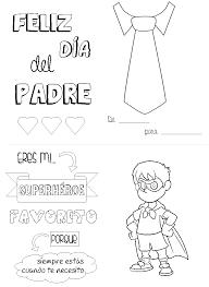 Dia Del Padre Tarjetas Y Diplomas Para Colorear Bebeazul Top