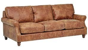 furniture distressed leather sofa