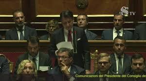 Crisi di governo, Giuseppe Conte parla in Senato: il discorso ...