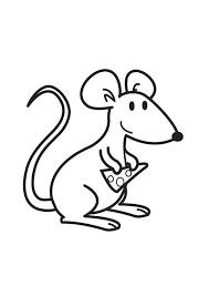 Kleurplaten Met Muizen Muizen Pagina De Muis Als Huisdier