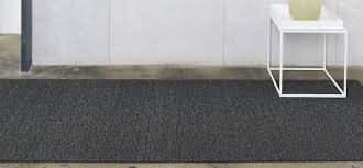 chilewich solid rug mercury