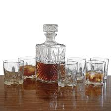 sparta whiskey decanter and glasses 7