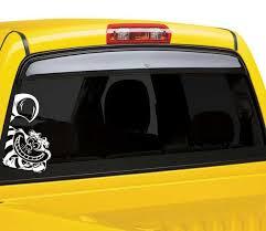 Cheshire Cat Car Window Sticker Window Decals Car Window Stickers Car Window