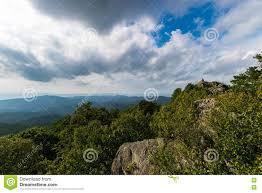 Bearfence Mountain Landscape In Shenandoah National Park Virgin Stock Image Image Of Bearfence Fall 77059491