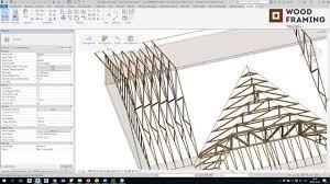 timber framing for revit roof trusses