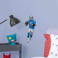 Fathead Matthew Stafford Large Officially Licensed Nfl Removable Wall Decal Walmart Com Walmart Com