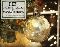 diy mercury glass ornaments the